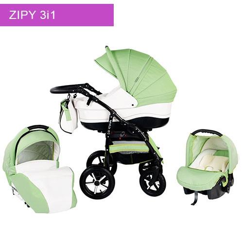 Zipy barnevogn - sikkerhedsgodkendt